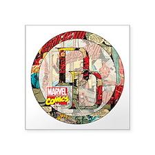 """Daredevil Collage Square Sticker 3"""" x 3"""""""