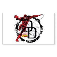 Daredevil Action Pose Decal