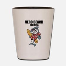 Vero Beach, Florida Shot Glass