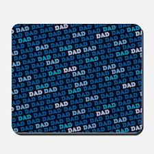 Dad Pattern Mousepad