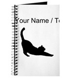 Black cat Journals & Spiral Notebooks