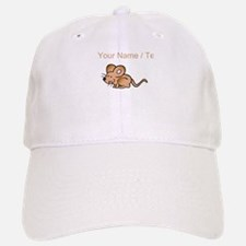 Custom Brown Mouse Baseball Baseball Baseball Cap