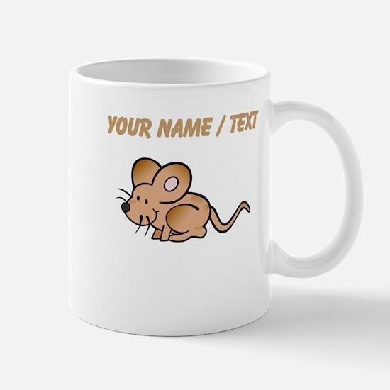 Custom Brown Mouse Mugs