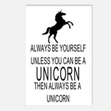 Always Be Yourself Unless Postcards (Package of 8)