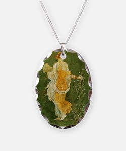 Flora Picking Flowers Necklace