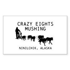 Crazy Eights Mushing Decal