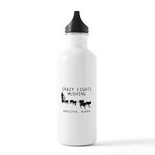 Crazy Eights Mushing Water Bottle