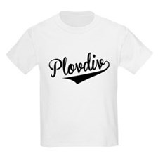 Plovdiv, Retro, T-Shirt