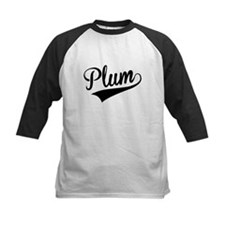 Plum, Retro, Baseball Jersey