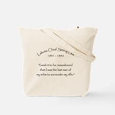Lakota Chief Sitting Bull Tote Bag