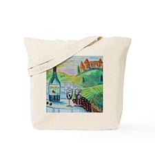 Chateau Wine Tote Bag