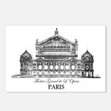 Vintage Grand Opera House Postcards (Package of 8)