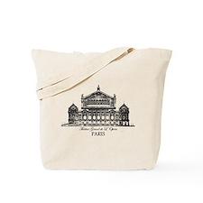 Vintage Grand Opera House, Paris Tote Bag