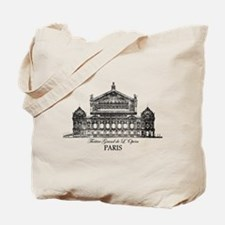 Vintage Grand Opera House, Paris Tote Bag