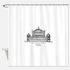 Vintage Grand Opera House, Paris Shower Curtain