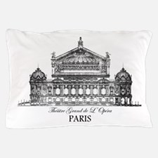 Vintage Grand Opera House, Paris Pillow Case