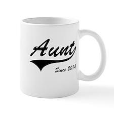 Aunt Since 2014 Mugs