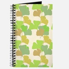 Ginkgo Leaves Journal