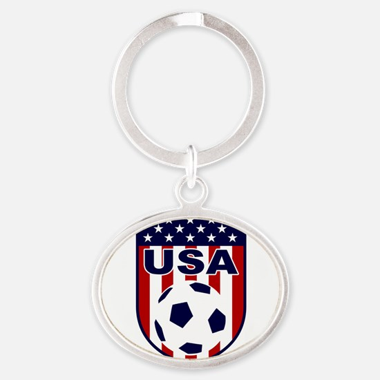 USA soccer Keychains