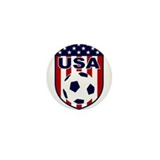 USA soccer Mini Button