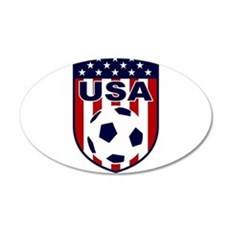 USA soccer Wall Decal