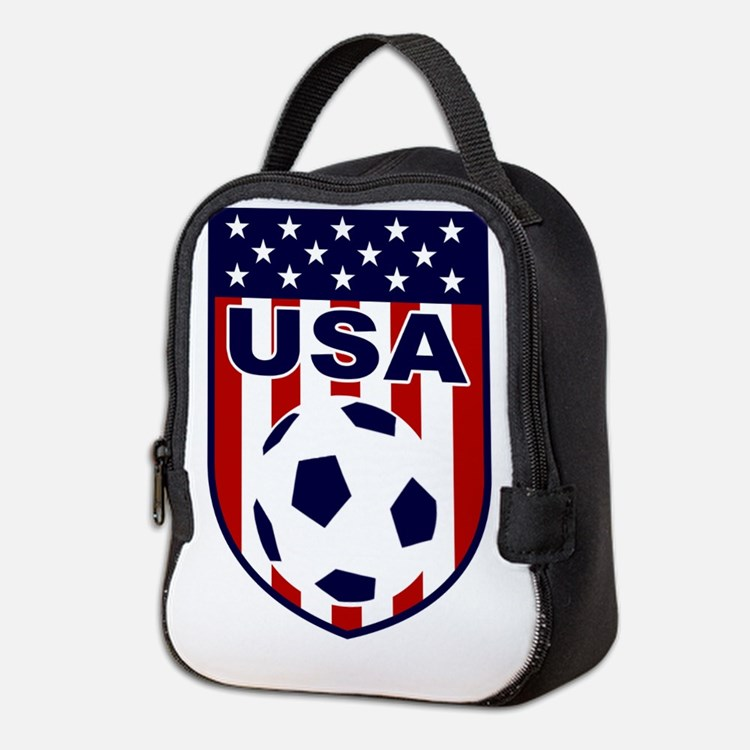 USA soccer Neoprene Lunch Bag