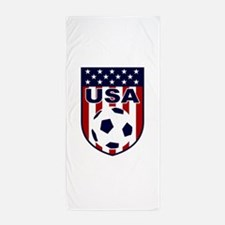 USA soccer Beach Towel