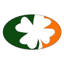 major-league-irish-orange Decal