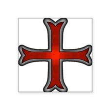 "Templars Control Square Sticker 3"" x 3"""