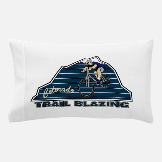 Mountain Biking Colorado Pillow Case