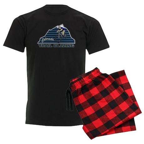 Mountain Biking Colorado Men's Dark Pajamas