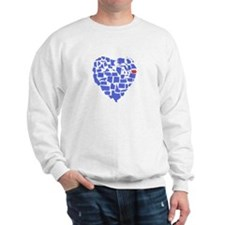 Iowa Heart Sweatshirt