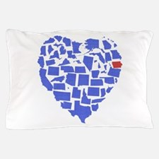 Iowa Heart Pillow Case