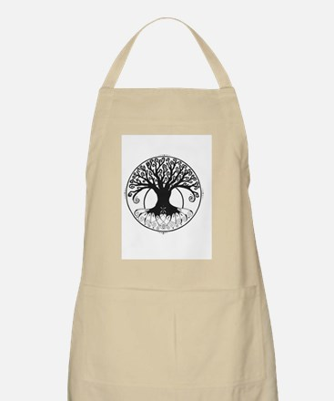 Tribal Circle Of Life Tree Apron