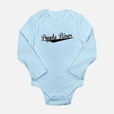Popple River, Retro, Body Suit