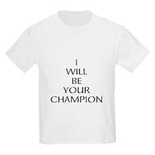 Game of Thrones Champion T-Shirt