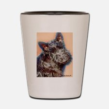 scottish terrier Shot Glass