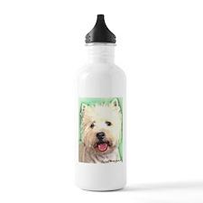 westie Water Bottle