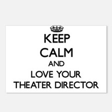 Keep Calm and Love your Theater Director Postcards