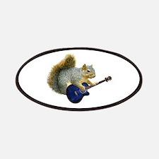 Squirrel Blue Guitar Patches