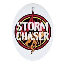 Storm Chaser Ornament (Oval)