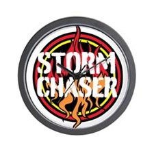 Storm Chaser Wall Clock