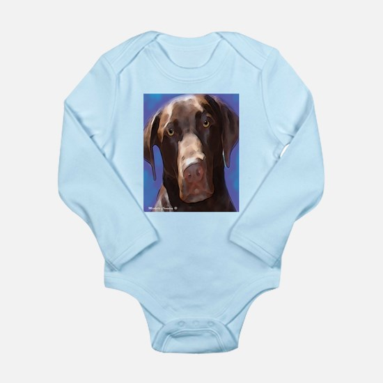 chocolate lab Body Suit