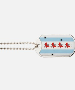 Chicago Phlaggg Dog Tags