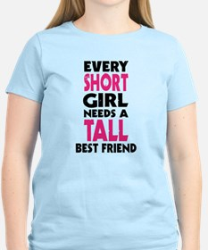 (SHORT GIRL - TALL GIRL) BFF T-Shirt