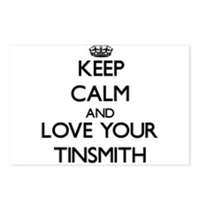 Keep Calm and Love your Tinsmith Postcards (Packag