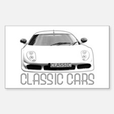 ...Classic Cars... Rectangle Decal