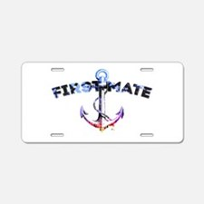 First Mate Aluminum License Plate