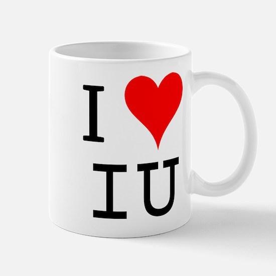 I Love IU Mug