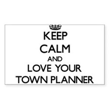 Keep Calm and Love your Town Planner Decal